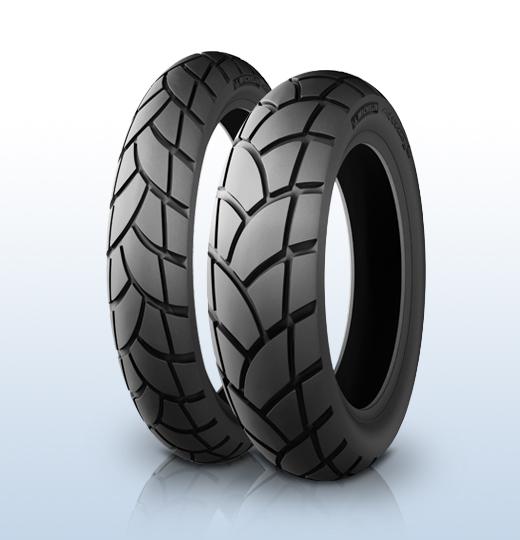 Laukut Moottoripyöriin : Michelin anakee rear r v spare wheel oy