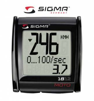 Sigma MC1812 -nopeusmittari