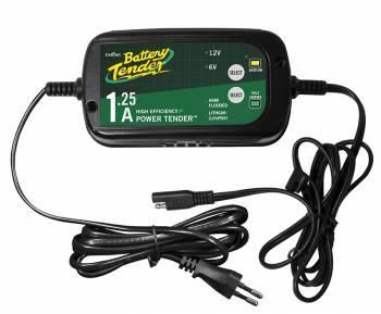 Battery Tender Plus -akkulaturi, 1.25A 6V/12V