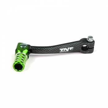 TNT Tuning -vaihdepoljin, Minarelli AM6, carbon/vihreä