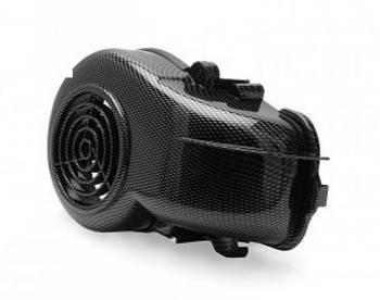 TNT Tuning -tuulettimen suojamuovi, Minarelli (vaaka), carbon