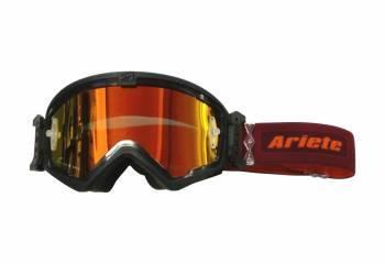 Ariete MudMax Easy -ajolasit, musta (kirkas/punainen peili)