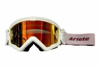 Ariete MudMax Easy -ajolasit, valkoinen (kirkas/punainen peili)
