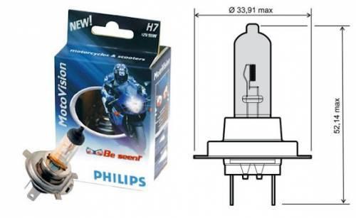 Philips CityVision -polttimo, HS1 PX43T, 12V 35/35W, kirkas