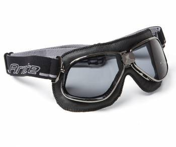 Ariete Vintage -ajolasit, musta (savu)
