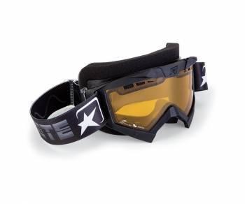 Ariete Adrenaline Snow -ajolasit, musta (keltainen)
