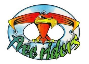 Tarra, pieni, 10x12cm, Free Riders