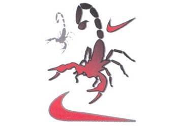 Tarra, pieni, 10x12cm, Scorpion