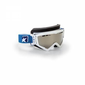 Ariete MudMax Snow -ajolasit, valkoinen (hopea peili)