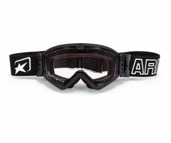 Ariete MudMax -ajolasit, musta (kirkas)