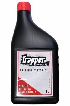 Trapper Motor Oil, 4T-öljy 5W-40, 1L