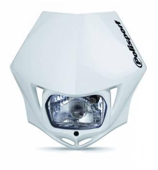 Polisport MMX -valomaski, valkoinen