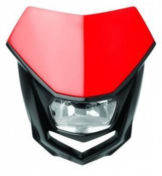 Polisport Halo -valomaski, punainen