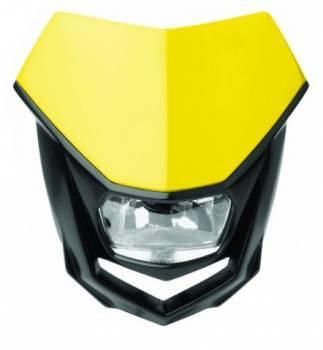 Polisport Halo -valomaski, keltainen