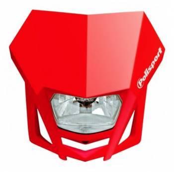 Polisport LMX -valomaski, punainen