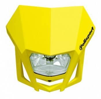 Polisport LMX -valomaski, keltainen