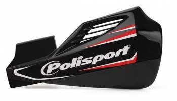 Polisport MX Rocks -käsisuojat, musta