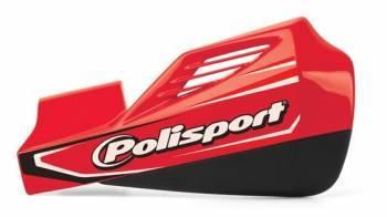Polisport MX Rocks -käsisuojat, punainen