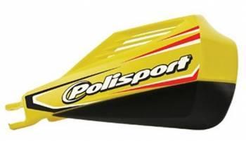 Polisport MX Rocks -käsisuojat, keltainen