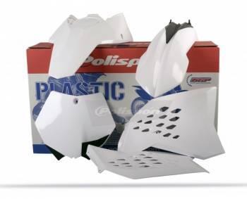 Polisport White -muovisarja, täydellinen, KTM SX 07-10