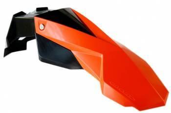 Circuit Stealth -etulokasuoja, musta/oranssi