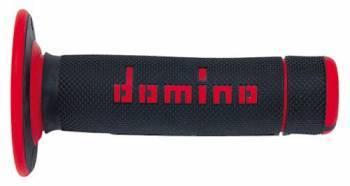 Domino MX Dual Half Waffle -kahvakumit, musta/punainen (0430)