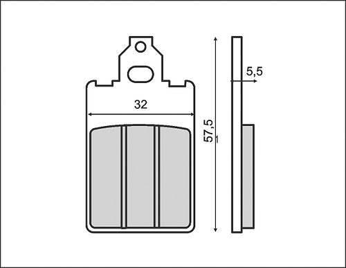 RMS -jarrupalat, Yamaha DT50R -03 (0070)