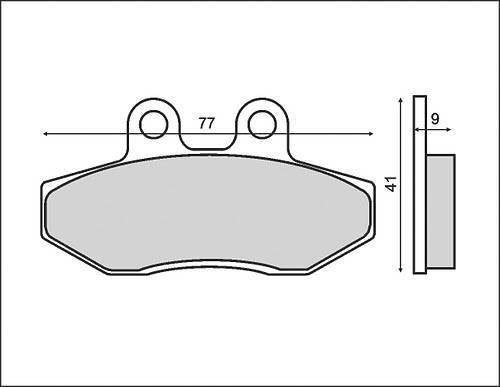 RMS -jarrupalat, Peugeot XR6 (0610)