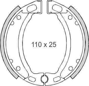 RMS -jarrukengät, MBK/Yamaha (0060)