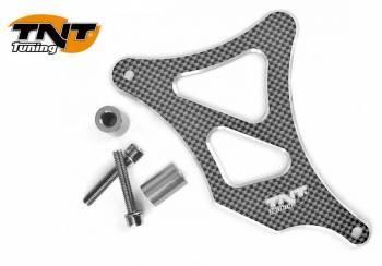 TNT Tuning -ratassuoja ALU, Minarelli AM6, carbon