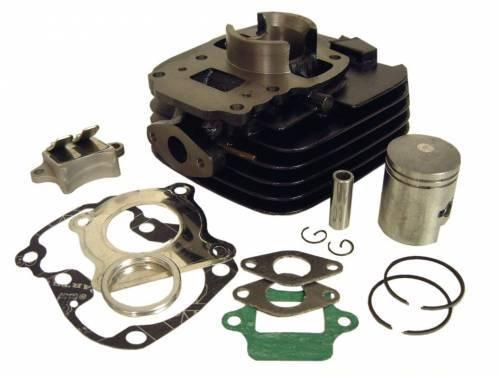 Tec-X -läppäsylinterisarja 50cc, Pv/S1 (ilma)