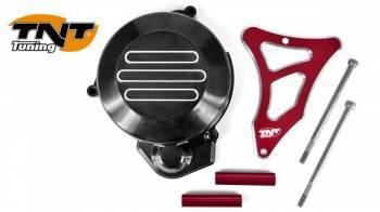 TNT Tuning -magneeton koppa + ratassuoja, Derbi Senda -05, punainen