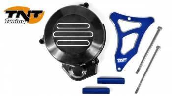 TNT Tuning -magneeton koppa + ratassuoja, Derbi Senda -05, sininen