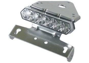 Takalyhty, LED, kilpitelineellä