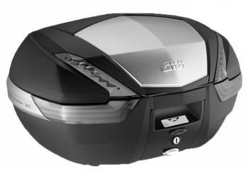 Givi Monokey V56 Tech Maxia 4 -perälaukku, musta