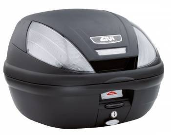 Givi Monolock E370 Tech -perälaukku, musta