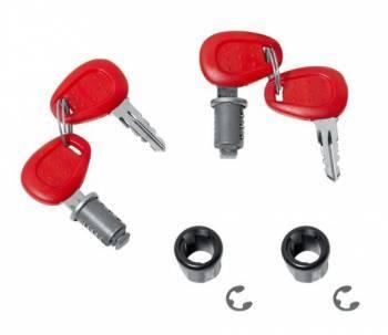 Givi -lukkosarja, punainen, E360/E450 2kpl