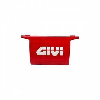 Givi -heijastin logolla, punainen, E52