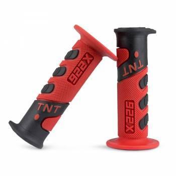 TNT Tuning 922X -kahvakumit, musta/punainen