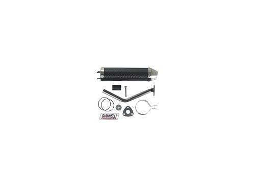 Giannelli -äänenvaimennin, carbon, Aprilia MX50/RX50 -05