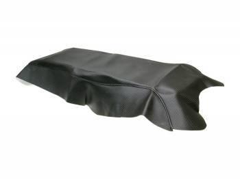 Xtreme -satulanpäällinen, Derbi Senda DRD Pro, hiilikuitu/musta
