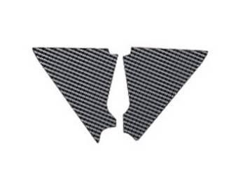 Blackbird -ilmakotelon tarra, carbon, Honda CR125 02-07