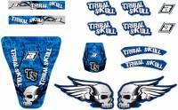 Blackbird -tarrasarja, Tribal Skull sininen