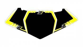 Blackbird Graphic -numeropohjat, musta, Suzuki RM125 01-