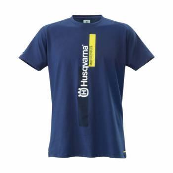 Husqvarna T-paita, sininen