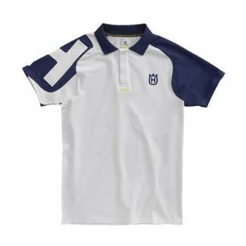 Husqvarna Corporate T-paita, kauluksella