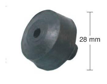 Buzzetti -keskituen kumityyny, 28mm