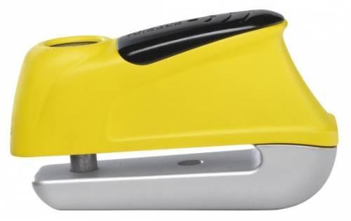 Abus Trigger Alarm 345 -levyjarrulukko, keltainen