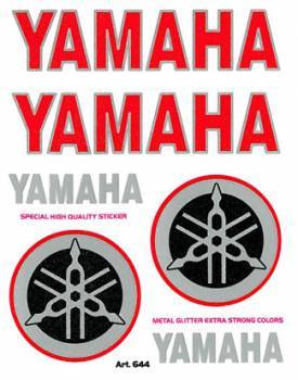 Tarra, pieni, 10x12cm, Yamaha