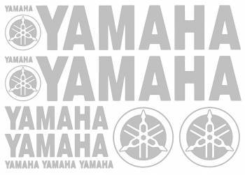 Tarrasarja, 25x35cm, Yamaha hopea